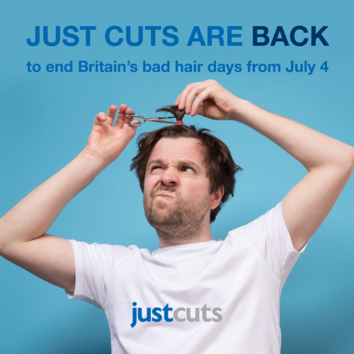 Just Cuts are back to end Britain's bad hair days from July 4